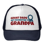 Los grandes papás consiguen promovidos al abuelo gorros