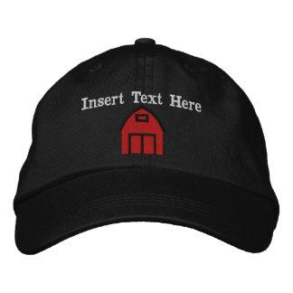 Los granjeros bordaron el gorra gorras de béisbol bordadas