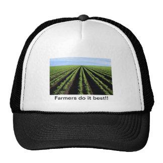 Los granjeros lo hacen mejor, gorras