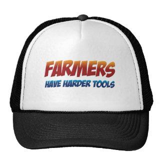 Los granjeros tienen herramientas más duras gorras