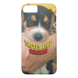 Los gustos divertidos tienen gusto del perrito del funda iPhone 7