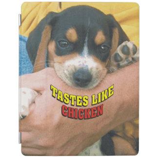Los gustos tienen gusto del perrito del beagle del cover de iPad