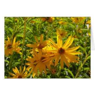 """Los hierbas del en MI de Flores """"florecen en mis Tarjeta De Felicitación"""