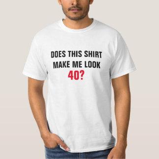 ¿Los hombres hacen esta camisa me hacen la mirada