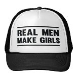Los hombres reales hacen a chicas gorra