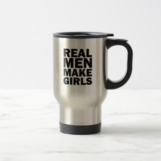 Los hombres reales hacen los chicas la taza de