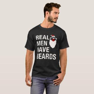 Los hombres reales tienen barbas camiseta