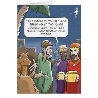 Los hombres sabios consiguen siempre direcciones tarjeta de felicitación