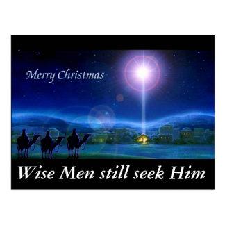 Los hombres sabios todavía lo buscan tarjeta de postal