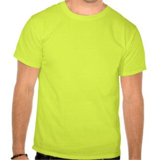 Los hombres usted va de fiesta la camiseta verde c