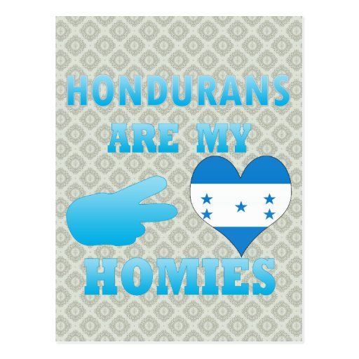 Los Hondurans son mi Homies Postal