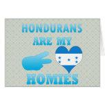 Los Hondurans son mi Homies Tarjeta