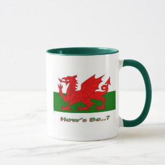 los hows sean, galés taza