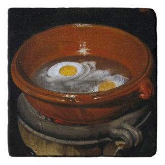 Los huevos de Velázquez Salvamanteles