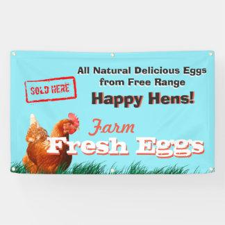 Los huevos libres del pollo de la gama vendieron