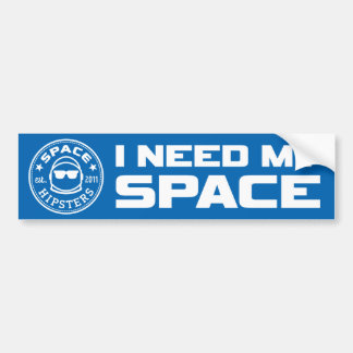 """Los inconformistas del espacio """"necesito pegatina pegatina para coche"""