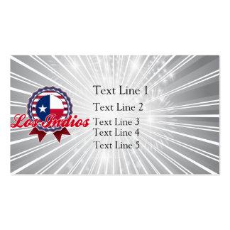 Los Indios, TX Tarjeta Personal