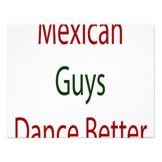 Los individuos mexicanos bailan mejor comunicado personalizado