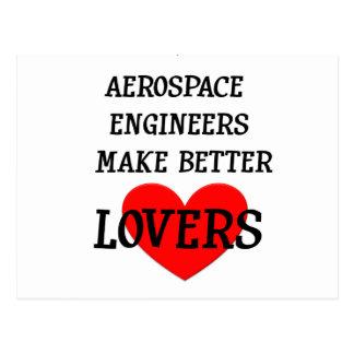 Los ingenieros aeroespaciales hacen a mejores postal