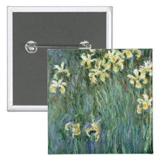 Los iris amarillos (aceite en lona) pin