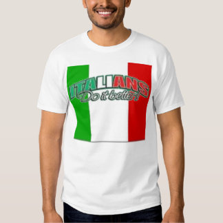 ¡Los italianos mejora! Camisas