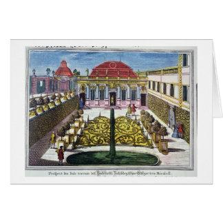 Los jardines del parque del mirabel, Salzburg, Aus Tarjeta De Felicitación