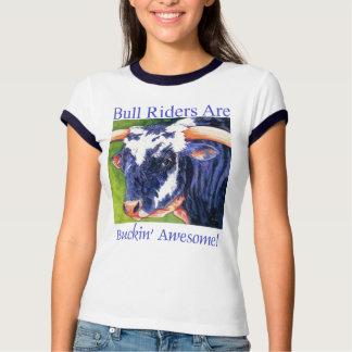 Los jinetes de Bull son - camisa de Bull del rodeo