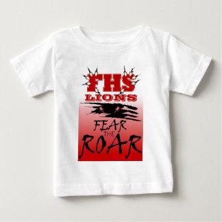 Los leones de FHS temen el rugido Camiseta
