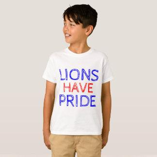 Los leones tienen camiseta de Hanes Tagless del