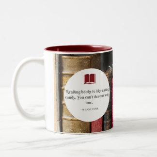 Los libros son como la taza del caramelo