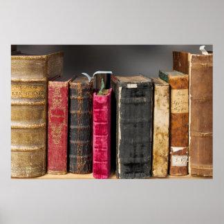 Los libros son poster del conocimiento póster