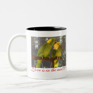 ¡los lovebirds, amor están en el aire!!!! , El amo Tazas De Café