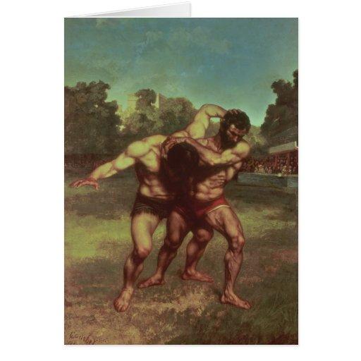 Los luchadores, 1853 tarjetas