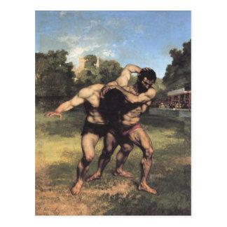 Los luchadores postal