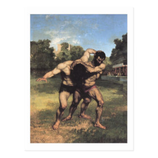 Los luchadores postales