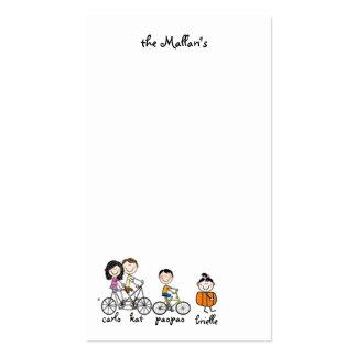 los mallari tarjetas de visita
