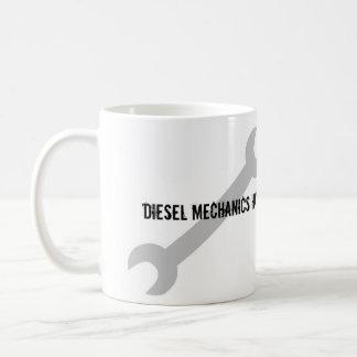 ¡Los mecánicos diesel tienen herramientas más Taza De Café