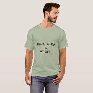 Los MEDIOS SOCIALES son MI camiseta de la VIDA