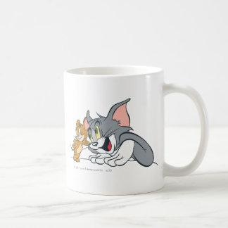 Los mejores brotes de Tom y Jerry Taza Básica Blanca