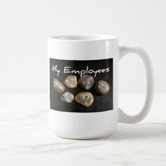 Los mejores empleados nunca taza de café