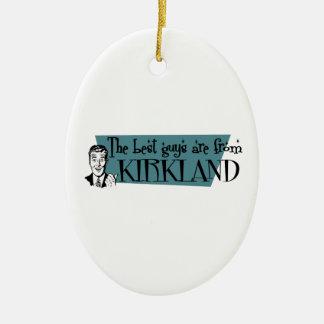 Los mejores individuos son de Kirkland Adorno Ovalado De Cerámica