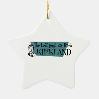 Los mejores individuos son de Kirkland Adorno De Cerámica En Forma De Estrella