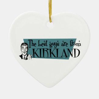 Los mejores individuos son de Kirkland Adorno De Cerámica En Forma De Corazón