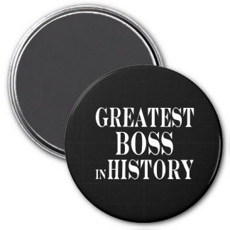 Los mejores jefes: Boss más grande en historia Imán Redondo 7 Cm