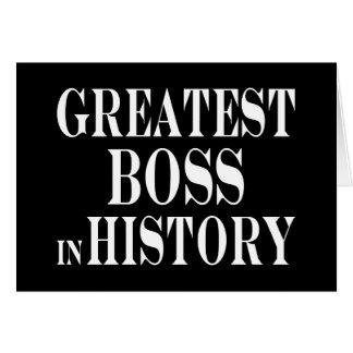 Los mejores jefes Boss más grande en historia Felicitaciones