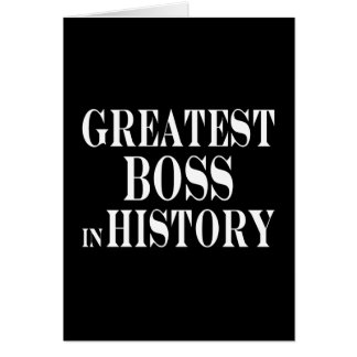 Los mejores jefes Boss más grande en historia Felicitacion