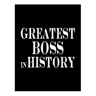 Los mejores jefes: Boss más grande en historia Postal