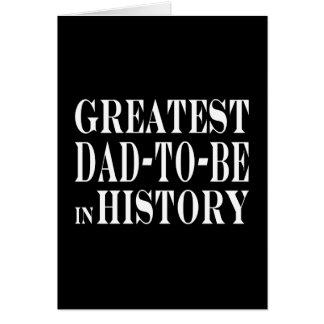 Los mejores papás a ser el papá más grande a estar tarjeta pequeña