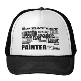 Los mejores pintores El pintor más grande Gorros