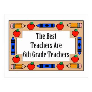 Los mejores profesores son 6tos profesores del postal